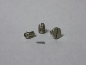 Unique Threaded Pins